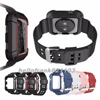 Rugged Protective Case Cover with Wrist Strap Bands For Apple Watch Series 1/2/3