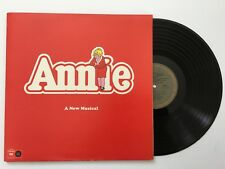 ANNIE Original Cast recording 1978 vinyl LP NM +20 page booklet & program