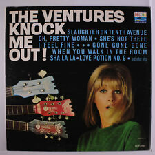 VENTURES: Knock Me Out! LP (Mono, slight cover wear, slight corner bend)