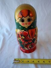 Russian Nesting Doll 7 Pcs / Used / Some paint chipping / Tf