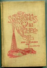 Sketches in Crude oil, Accidents & Incidents of Petroleum Development - (1896)