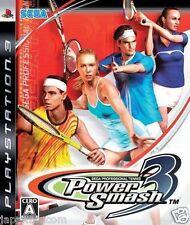 Used PS3 Power Smash 3 Virtua Tennis 3 PLAYSTATION 3 SONY JAPAN JAPANESE IMPORT