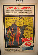 Passport to Shame Original 1sh Movie Poster 59 sexy Diana Dors, nothing hidden,