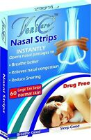 VeniCare NASAL STRIPS Reduce Snoring Right Now Relieves 120 pcs Large=(2 Boxes)