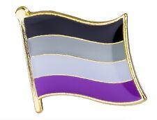 Lesbian Pride Lgbt Hat Tie Tack Badge Asexual Flag Lapel Pin 16mm x 9.5mm Gay