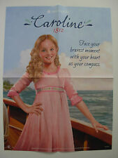 American Girl CAROLINE  Poster!!  Rare & Hard To Find Store Exclusive!