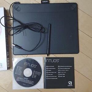 Wacom Intuos Bd Cth-690/K1 Stylo & Touch Tablette M Taille Couleur Noir