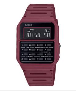 Casio CA-53WF-4B Calculator Resin Watch for Men and Women