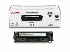 Genuine Canon Original 118 Toner Cartridge - Black Genuine 2662B001AA