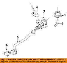 TOYOTA OEM 94-97 Corolla EGR System-Vacuum Regulator 2587016230