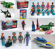 More details for thunderbirds, stingray & captain scarlet toys: diecast vehicles & action figures
