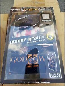 Gamer Graffix For PS2 Console God Of War Skin Kit - Removable/Reusable Official