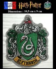 Écusson Thermocollant NEUF (Patch Embroidered) - Potter Serpentard Slytherin (A)