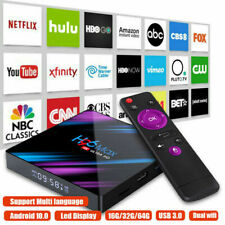 Android 10.0 Smart TV Box Quad Core 16G 64 ГБ HD Media Player Wifi Hdmi Bluetooth