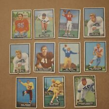 1951 Topps Magic Football lot of 11 cards