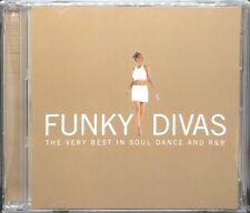 FUNKY DIVAS - VARIOUS ARTISTS, DOUBLE CD ALBUM, (2001).