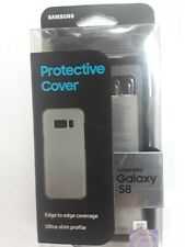 Samsung Galaxy S8 Ultra Thin Slim Protective Cover Clear -NEW