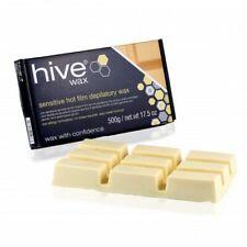 HIVE Sensitive HOT FILM DEPILATORY WAX Hard Wax BLOCK Waxing Hair Removal - 500g