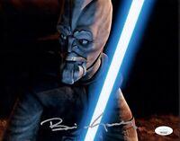 BRIAN GEORGE Signed 8X10 STAR WARS Clone Wars Photo Autograph RARE JSA COA