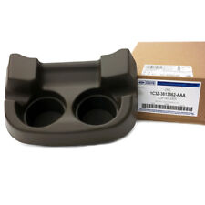 OEM NEW Front Center Console Cup Holder Dark Parchment Super Duty 1C3Z3613562AAA
