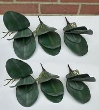 Butterfly Orchid Leaf Bush Grasses Set of 6