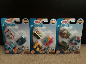 Thomas & Friends - Minis -  Lot of 3 - 3 Pack - New & Sealed