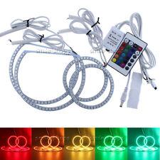 4pcs RGB Multi-Color LED Angel Eye Halo Ring Headlight Kit For 04-08 Ford F-150