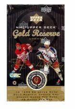 1998-99 UPPER DECK GOLD RESERVE HOCKEY HOBBY BOX