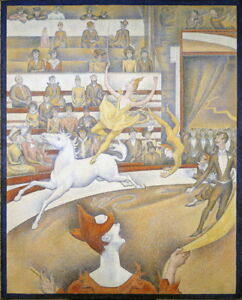 Georges Seurat The Circus Giclee Canvas Print Paintings Poster Reproduction