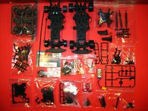 2 NEW VINTAGE HPI MICRO RS4 1/18 CHASSIS with DODGE VIPER & BMW M3 BODIES drift