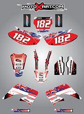 HONDA CR 125 - 2002 / 2016 Full  Custom Graphic  Kit AUSSIE PRIDE stickers