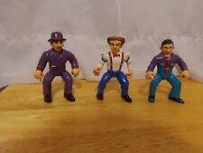 Vintage Dick Tracy Figure Lot Of 3 (Disney Playmates) Figurines