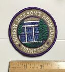 President Andrew Jackson's Hermitage House Tennessee Round Embroidered Patch