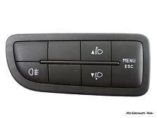 Fiat Fiorino (255) 1.3 D Schalter Nebelschlussleuchte Leuchtweite Menü ESC