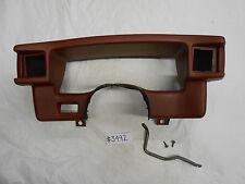 1987-1989 Mustang Instrument Cluster Bezel - Scarlet Red