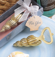 Bottle Opener Conch Sea shell Design Favour Gift