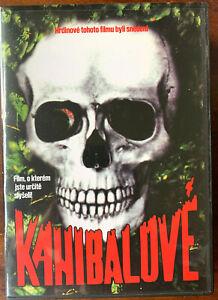Cannibal Holocaust DVD 1980 Italian Horror Movie Czech Release