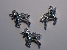 9 - UNICORN HORSES FOR MYTHICAL CHARMS NECKLACE. BRACELET OR EARRINGS.
