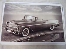 1956 CHEVROLET  BEL AIR CONVERTIBLE 11 X 17  PHOTO PICTURE