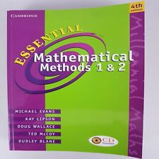 B1 Essential Mathematical Methods 1 and 2 by Dudley Blane, Kay 4e * No CD ROM **
