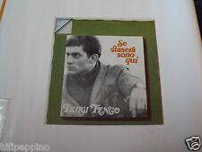 """LUIGI TENCO  """"SE STASERA SONO QUI"""" VINILE LP"""