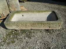 1869 ant.146cm GRANIT STEINTROG PFLANZTROG FUTTERTROG GRANITTROG Trog Blumentrog