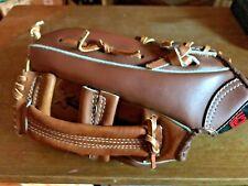 vintage Hutch Super H design model 40195 top grain leather baseball glove NICE