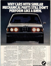 1977 PAPER AD BMW 320i Car Auto Automobile 2 Liter K-Jetronic Fuel Inject Engine