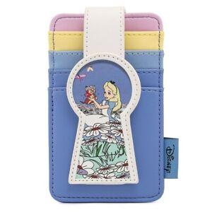 Loungefly Disney Alice in Wonderland - Key Hole Card Holder