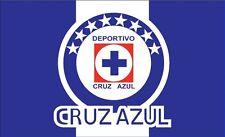 Bandera Cruz Azul Flag Futbol Soccer 3' X 5' Feet/Pies Liga MX