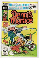 Dennis the Menace #1 (Nov 1981, Marvel) Hank Ketcham c