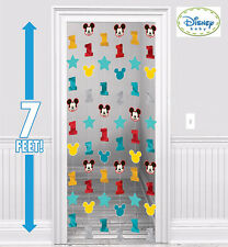 Mickey 1ST Birthday Party Supplies STRING DECORATIONS 7 Ft Long