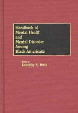 Handbook of Mental Health and Mental Disorder Among Black Americans-ExLibrary