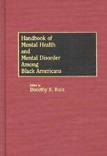Handbook of Mental Health and Mental Disorder Among Black Americans-ExLibrary